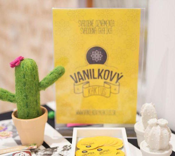 Vanilkový Kaktus Design