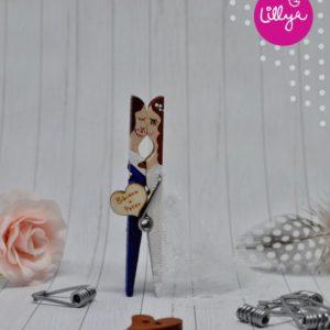 originálne svadobné magnetky pre hostí
