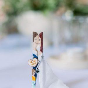 svadobné magnetky pre hostí