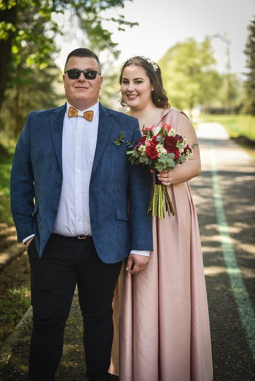 Tinka & Maroš – svadba s rúškom na tvári