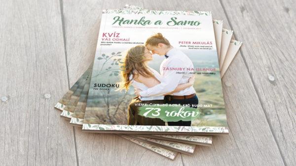 svadobný časopis na mieru
